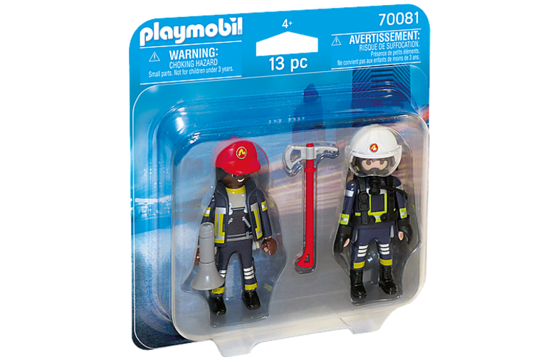 Rescue Firefighters Duo Set - Playmobil