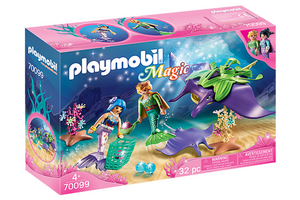 Pearl Collectors with Manta Ray - Playmobil