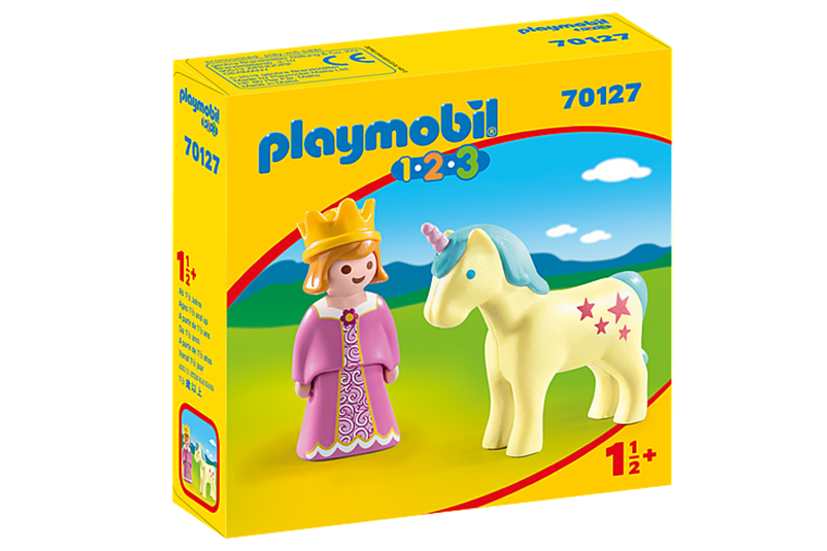 Princess with Unicorn - Playmobil 1-2-3