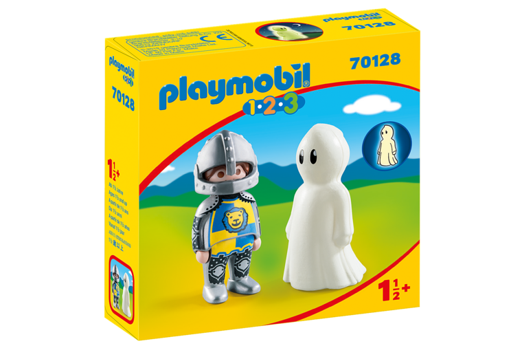 Knight with Ghost - Playmobil 1-2-3