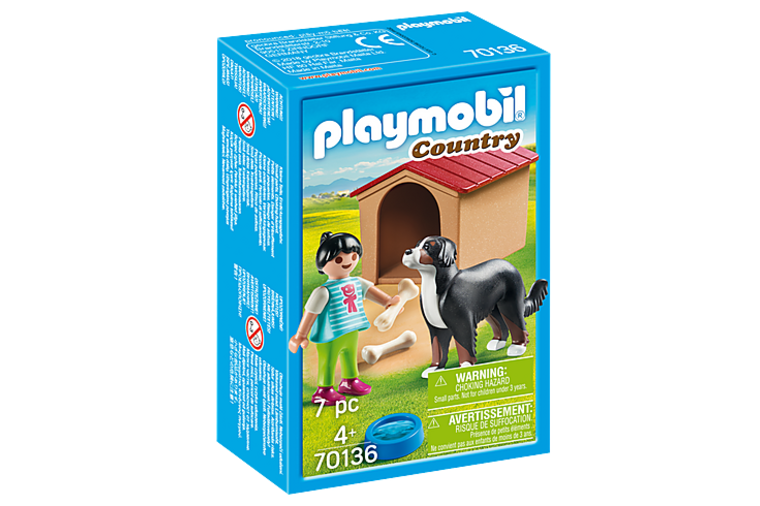 Dog with Doghouse - Playmobil