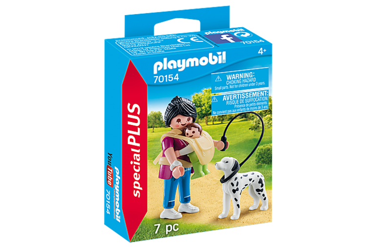 Mom/Baby and Dog Duo Set - Playmobil
