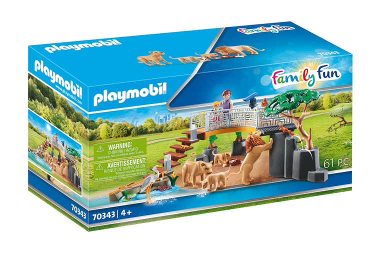 Playmobil - Outdoor Lion Enclosure