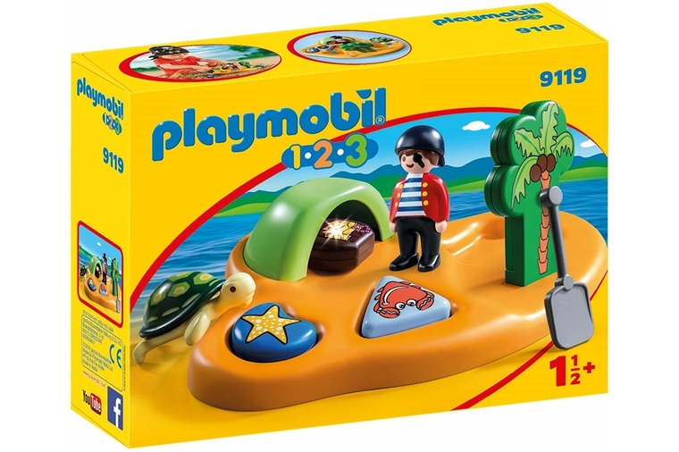 Pirate Island - Playmobil