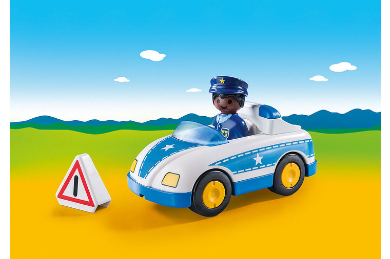 Police Car - Playmobil 1-2-3