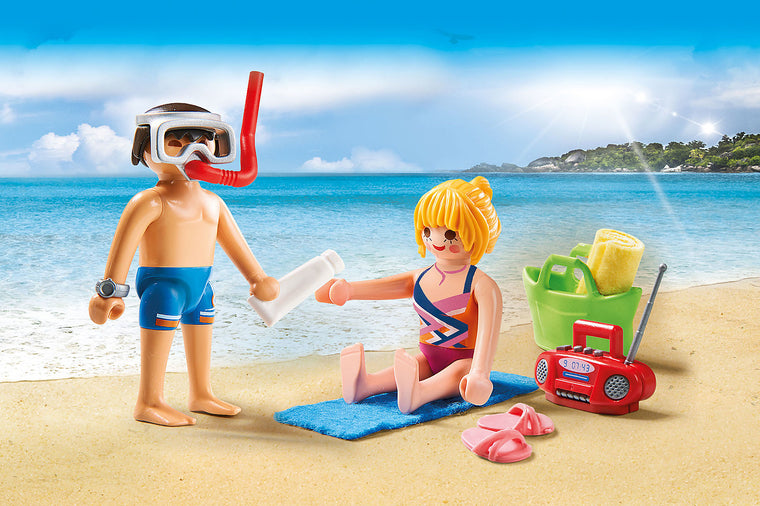 Beachgoers - Playmobil