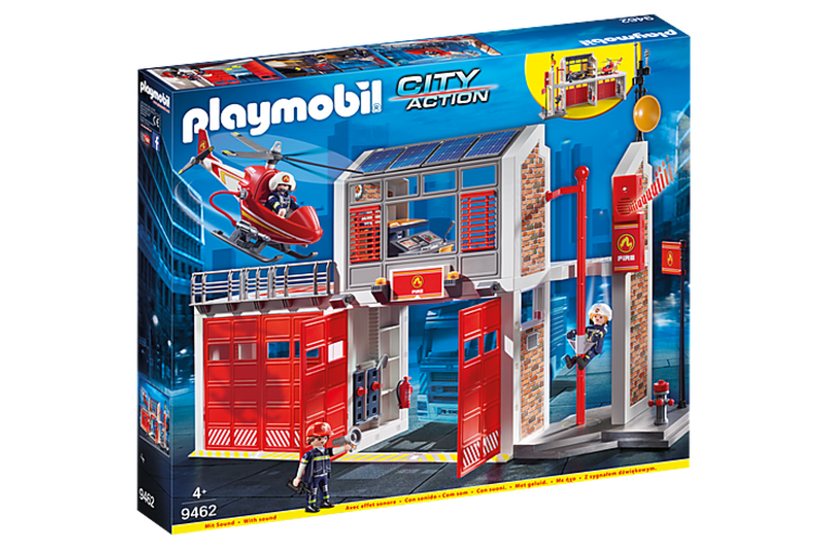 Fire Station - Playmobil