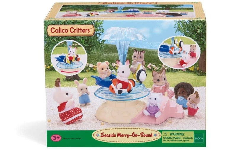 Calico Critters - Seaside Merry-Go-Round
