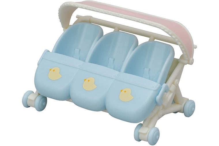 Calico Critters - Triple Baby Stroller