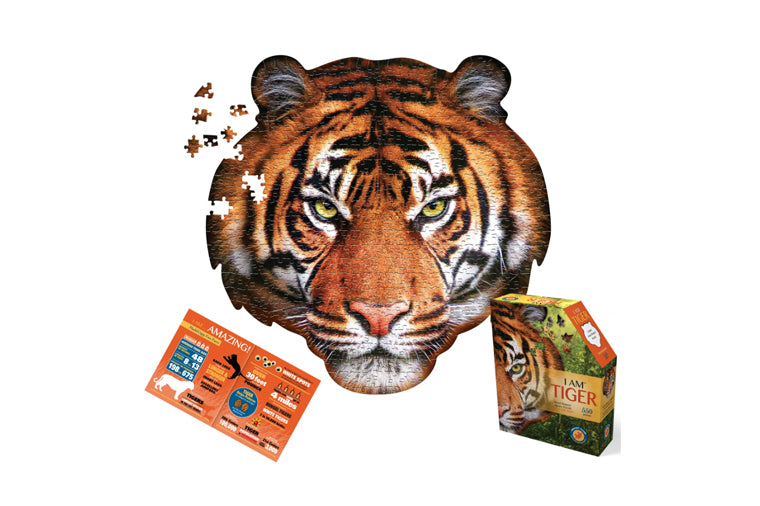 I am Tiger Puzzle by Madd Capp Games