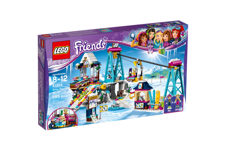 Lego Friends - Snow Resort Ski Lift 41324 (Retired)