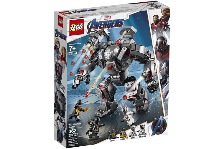 Lego - Marvel Avengers War Machine 76124