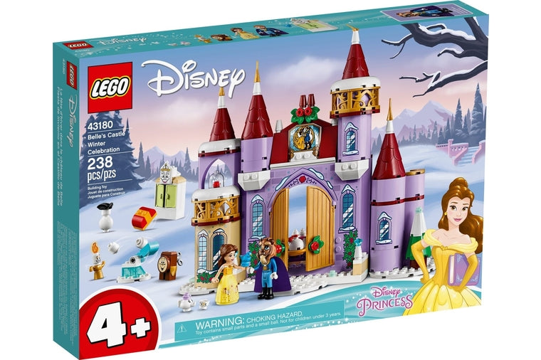 Lego - Belle's Winter Castle Celebration 43180