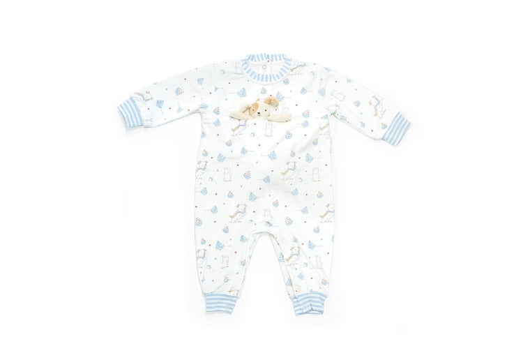 Bunnies By The Bay - Skipit Bud Playsuit 9-12 Months