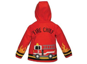 Fire Truck Raincoat - Kids - Stephen Joseph