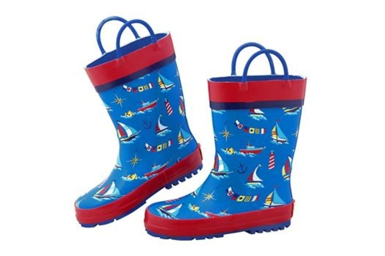 Nautical Rainboots - Kids - Stephen Joseph