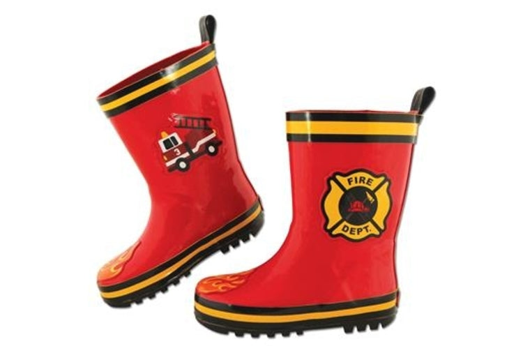 Fire Truck Rainboots - Kids - Stephen Joseph