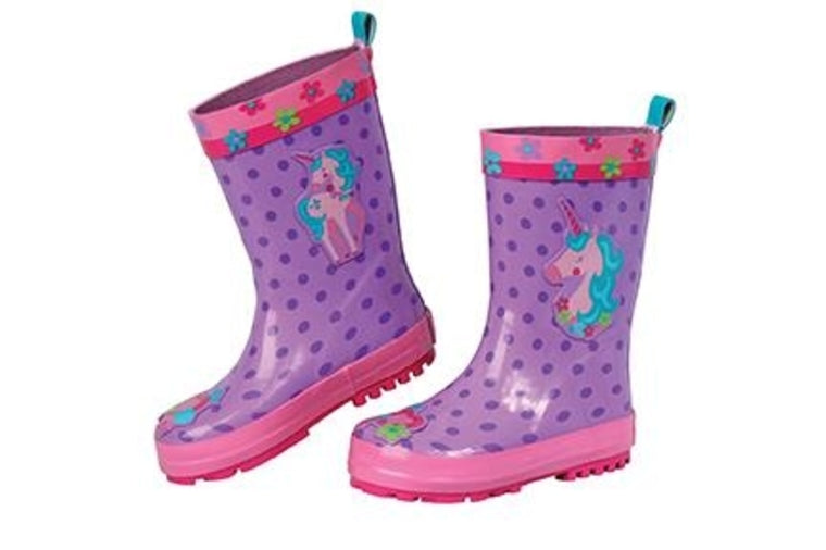 Unicorn Rainboots - Kids - Stephen Joseph