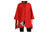 Red Sticks Reversible Rain Cape  Winding River Clothing