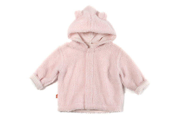 Pink Icing Fleece Magnetic Jacket