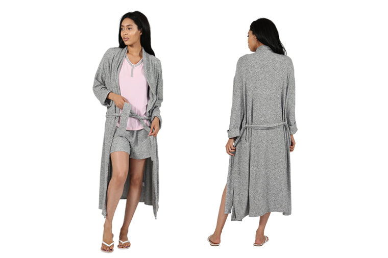 Comfortwear Robe in Grey