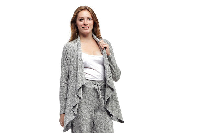 Cascade Cardigan, Grey