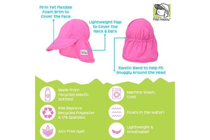 Swim Flap Hat UPF 50+