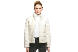 Donna Salyer's Fabulous Furs Perfect Little Faux Fur Jacket