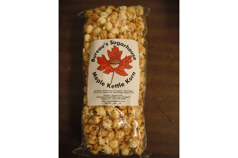 Bureau's Maple Kettle Korn - 6oz