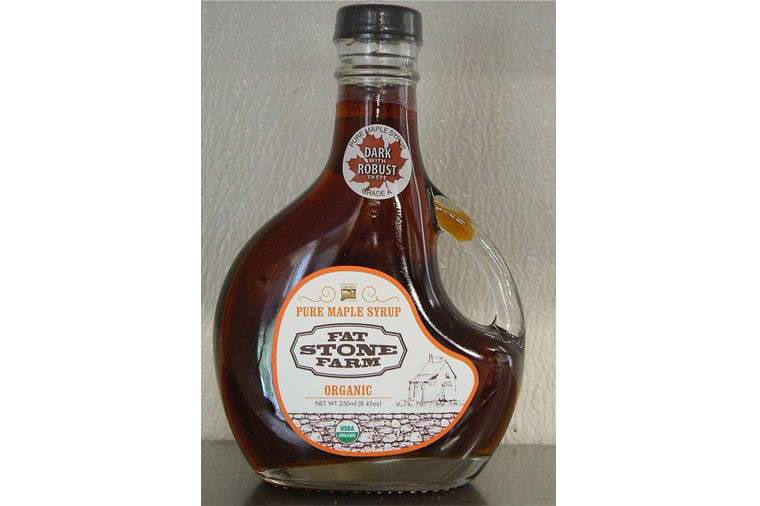 Fat Stone Farm Pure Maple Syrup, Amber