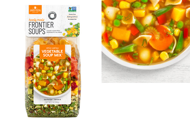 Ohio Valley Vegetable Soup Mix - Frontier Soups