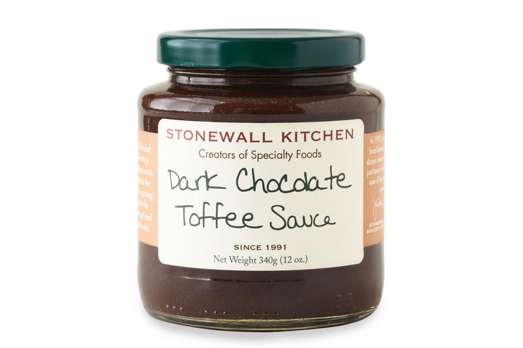 Dark Chocolate Toffee Sauce - Stonewall Kitchen
