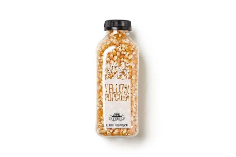 Bottled Popcorn - Yellow