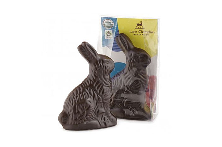 Dark Chocolate Bunny Placesetting