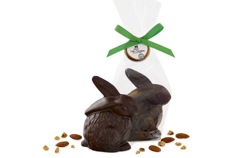 Dark Milk Chocolate Sea Salt & Almond Bunny