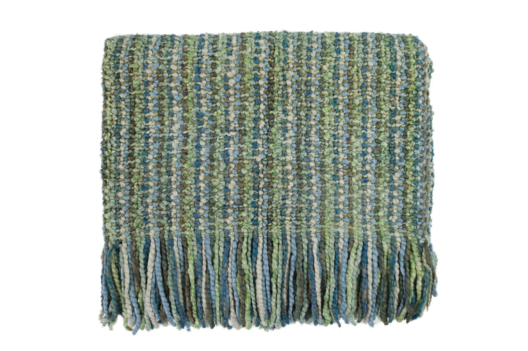 Bedford Cottage - Stria Seaglass Throw Blanket
