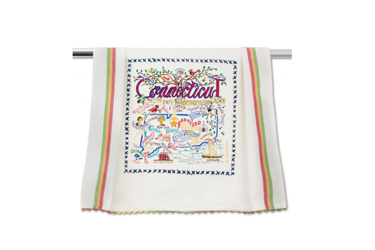 Connecticut Dishtowel