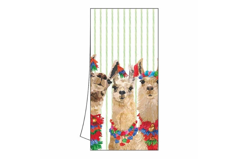 Patti Gay - Llama Amigos Kitchen Towel