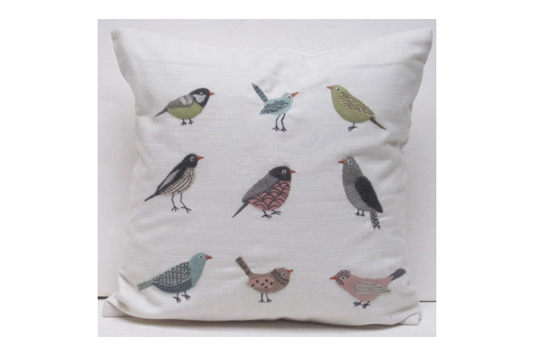 Aviary Cream Pillow