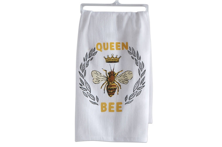 Queen Bee Dishtowel