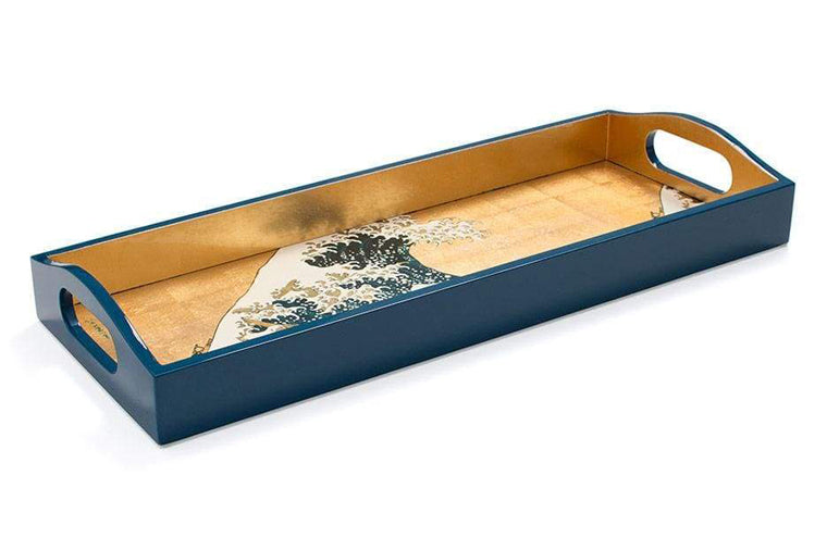 The Great Wave Lacquer Tray