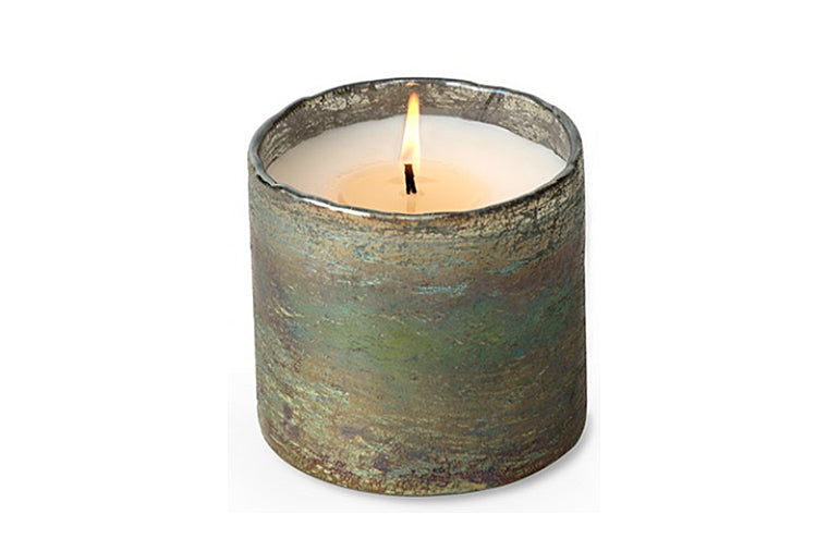 Orange Grove Moss Green Candle