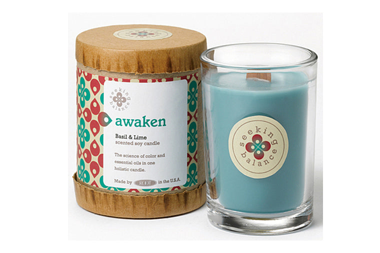Basil & Lime Awaken Candle