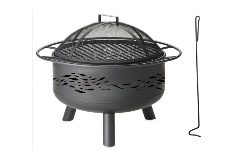 School of Fish Metal Fire Pit