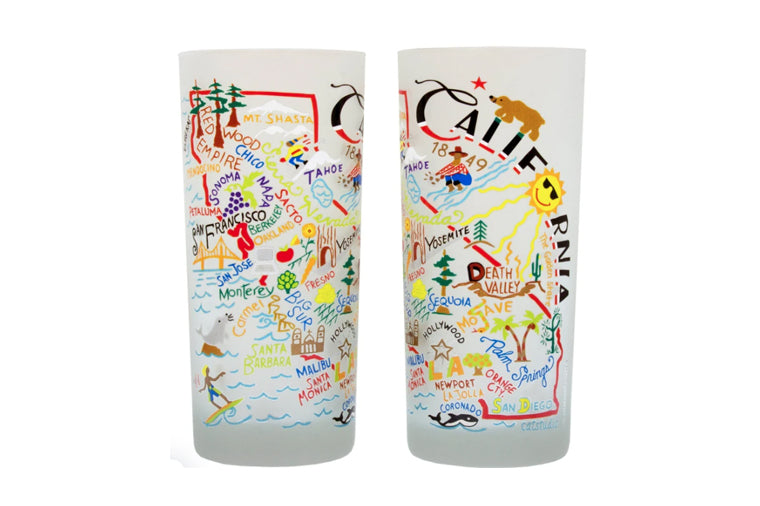 California Drinking Glass - Catstudio