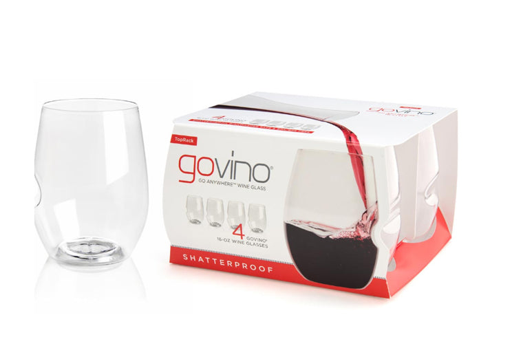 Govino 16 ounce Glasses, set of 4