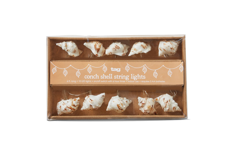Conch Shell String Battery Lights