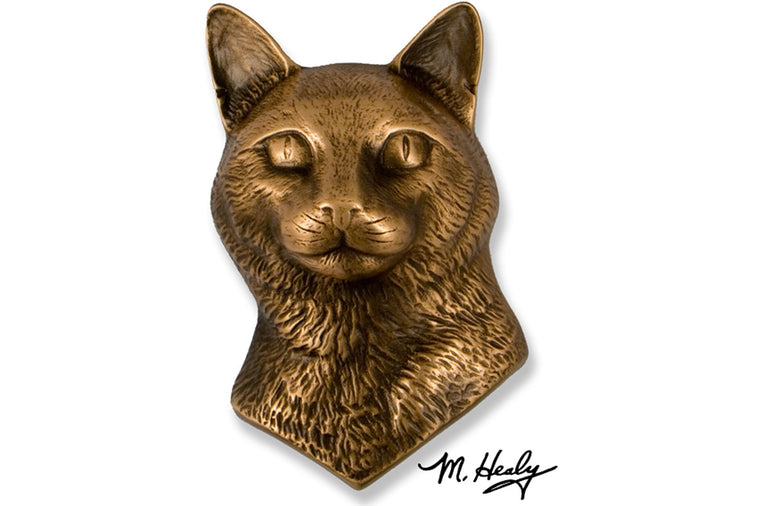 Michael Healy Designs - Cat Doorknocker