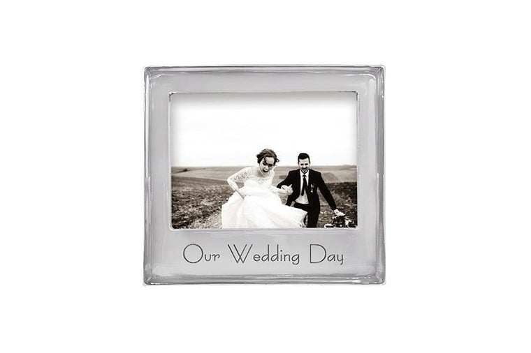 Our Wedding Day 5x7 Frame