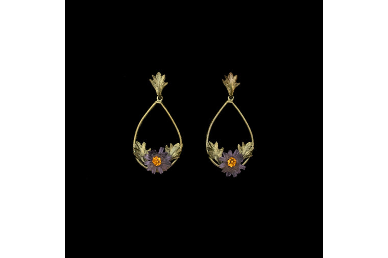 Aster Oval Post Earrings